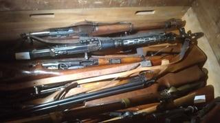 Aargauer Polizei sammelte lediglich 150 Waffen ein