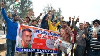 Indischer Kampfjet-Pilot freigelassen
