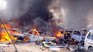 Bomben erschüttern Damaskus