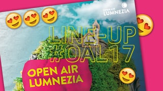 Il lineup dal Open Air Lumnezia