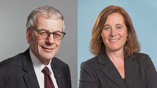 Harter Wahlkampf: So präsentierten sich Fluri und Roth im Streitgespräch bei SRF