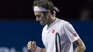Federer en l'otgavel final al Swiss Indoors