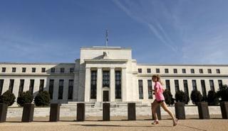 Gespanntes Warten auf den Fed-Entscheid