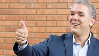 Konservativer Kandidat Duque gewinnt Wahlen
