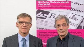 Zwischen den Basler Medienhäusern fliegen die Fetzen