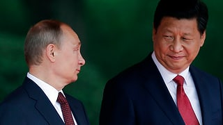 Russland blickt nach China
