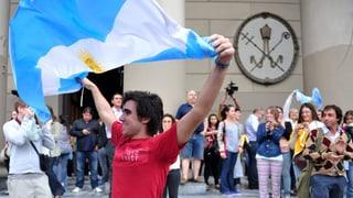 Die Welt freut sich mit Argentinien