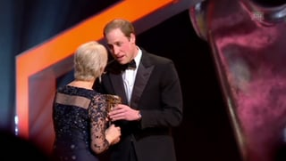 BAFTA-Awards: Prinz William ehrt Helen Mirren