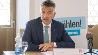 FDP Nidwalden gibt Hans Wicki grünes Licht