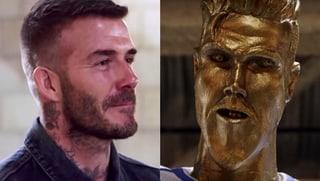 Hässliche Statue: David Beckham übel reingelegt