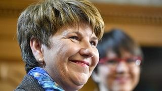 Viola Amherd: «Der Puls ist etwas hochgegangen»