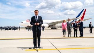 Macron will Trump von dauerhaftem Syrien-Engagement überzeugen