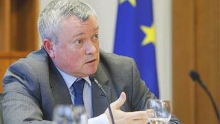 EU-Botschafter Jones fordert «Hausordnung» für die Schweiz