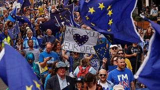 Tausende demonstrieren in Grossbritannien gegen Brexit