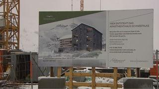 Andermatt Swiss Alps: Immer noch eine Baustelle