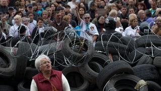 Putins Einfluss wirkt in der Ost-Ukraine