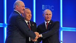 Eurasische Wirtschaftsunion «von neuer Sowjetunion weit entfernt»