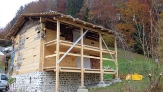 Historisches Nideröst-Haus steht wieder, sieht aber anders aus
