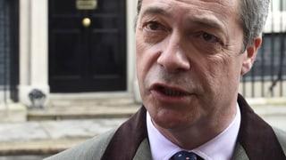 Nach Brexit-Votum: Ukip-Chef Nigel Farage tritt zurück