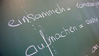 Thurgauer Parlament gegen Frühfranzösisch