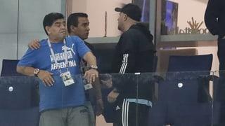 Die «Albiceleste» bringt sogar Maradona zum Weinen