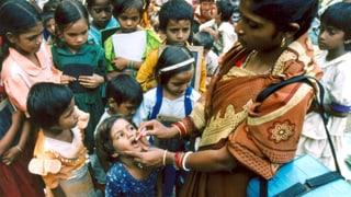 Kinderlähmung in Indien ausgerottet
