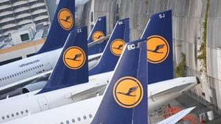 Pilotenstreik: Hunderte Lufthansa-Flüge fallen aus