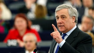 Antonio Tajani daventa successur da Martin Schulz