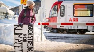 Greta Thunberg will in Davos im Zelt übernachten