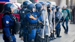 Debatte über das revidierte Berner Polizeigesetz: Es dürfte vom Parlament in grossen Teilen angenommen werden.
