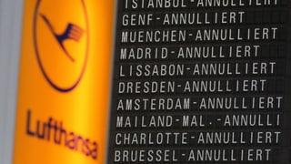 Lufthansa-Piloten streiken – auch Schweiz betroffen