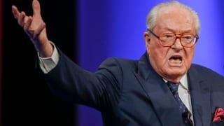 Quasi-Rauswurf: Front National suspendiert Jean-Marie Le Pen