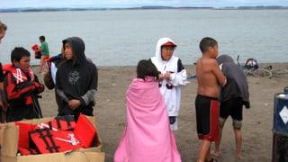 Von wegen Eiseskälte: Badeurlaub am Arktischen Ozean