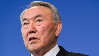 «Sensationswahl» für Kasachstans «Führer der Nation»