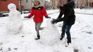 «Frostern» – Wetterkapriolen an den Feiertagen
