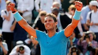 Nadal greift nach dem 11. Titel in Paris