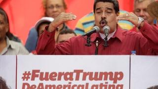 Maduro lässt Raketen und Panzer auffahren