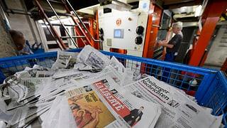 Die Zeitungsdruckerei von Saint-Paul stellte 2014 den Betrieb ein