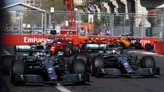 4. Mercedes-Doppelsieg: Bottas in Baku vor Hamilton