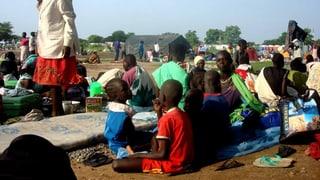 Zivilisten im Südsudan suchen Schutz vor Kämpfen