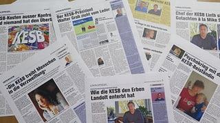 Berichte über KESB Linth: Rechtliche Schritte gegen Zeitung