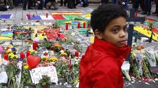 Trauer, Wut, Kreidebilder: Reaktionen auf die Brüssel-Anschläge