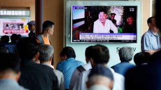 «Pjöngjang arbeitet mit Hochdruck an Atomraketen»