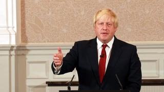 Boris Johnson krebst zurück