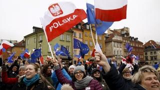 Bürger-Proteste gegen Mediengesetz in Polen