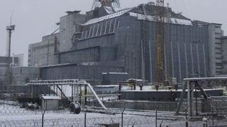Halle neben Sarkophag in Tschernobyl eingestürzt