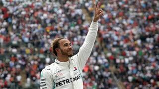 Hamilton zum 5. Mal Weltmeister