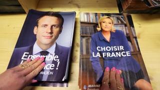 Nun heisst es: Macron oder Le Pen?
