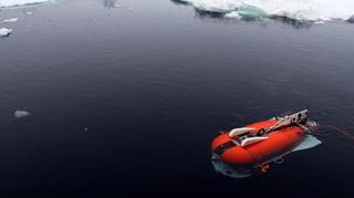 Tauchroboter erforscht Leben unter dem Eis