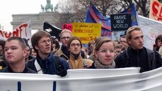 Auf der Strasse protestieren – bringt das etwas?